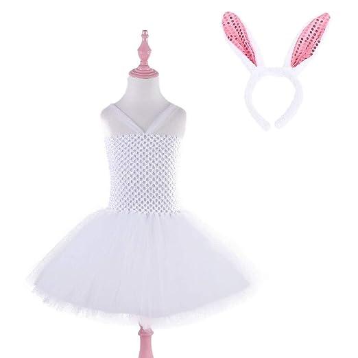 Disfraces de Baile para niñas Niñas Conejo Viste a Tutu Dreams ...