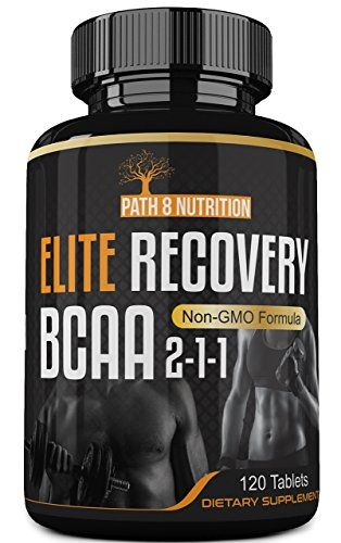 Cheap Powerful 4000mg Elite Recovery BCAA Capsules 2-1-1 Pre and Post Workout Branched Chain Amino Acids