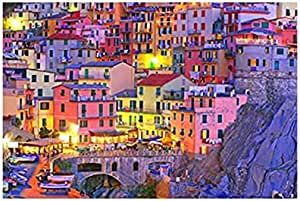 Photo Block MultiColors Landscape Tableau 60cmx 40cm - 2724819350603