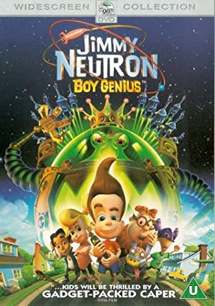 6009eb56c96 Jimmy Neutron  Boy Genius Dvd  2002   Amazon.co.uk  Debi Derryberry ...