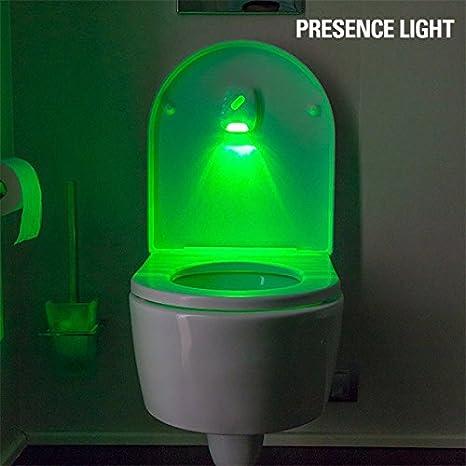 Presence Light Toiled Indicador Luminoso, Blanco, 7 x 2 x 9 cm