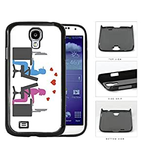 Social Media Computer Nerd Lovers Hard Plastic Snap On Cell Phone Case Samsung Galaxy S4 SIV I9500