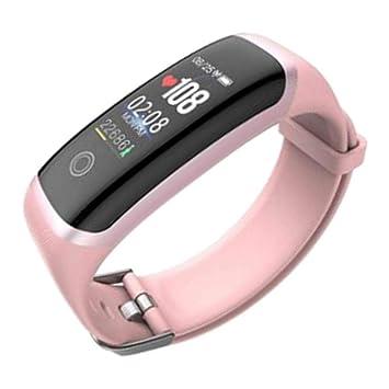 KESOTO Reloj Smartwatch Mujer Reloj Cuenta Pasos Relojes ...
