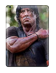Awesome Defender Tpu Hard Case Cover For Ipad Air- Sylvester Stallone
