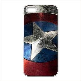 DIY Captain America Avengers Super Hero Custom Case Shell Cover ...