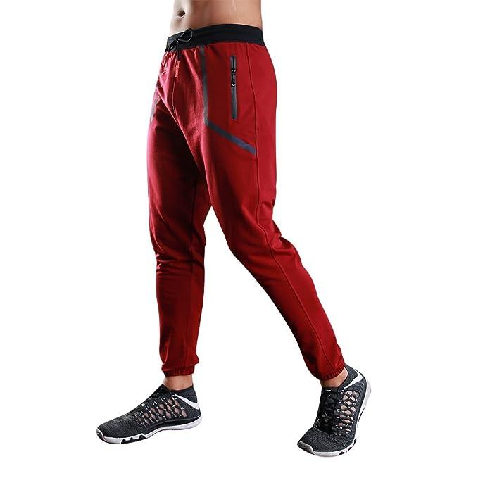 Uskincare Hombre Pantalón Deportivo Jogger Compresión Deporte Pantalones ftvxj