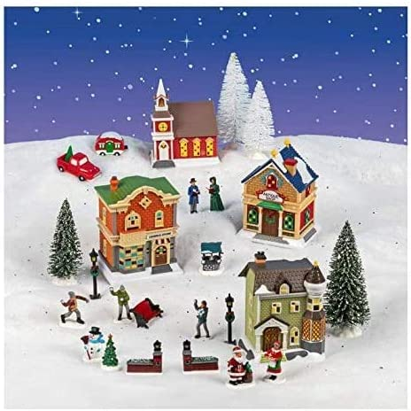 2020 Cobblestone Village Christmas Amazon.com: NS 2020 Christmas Holiday Xmas Village Collection