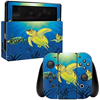 MightySkins Skin Compatible with Nintendo Switch - Turtle Dreams | Protective, Durable, and Unique Vinyl Decal wrap Cover | Easy to Apply, Remove, and Change Styles | Made in The USA