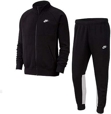 Nike CE - Chándal deportivo para hombre, de forro polar blanco ...