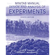 Minitab Manual Design and Analysis of Experiments