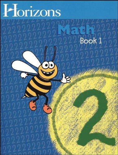 Geography Workbook Set - Horizons Math 2 SET of 2 Student Workbooks 2-1 and 2-2
