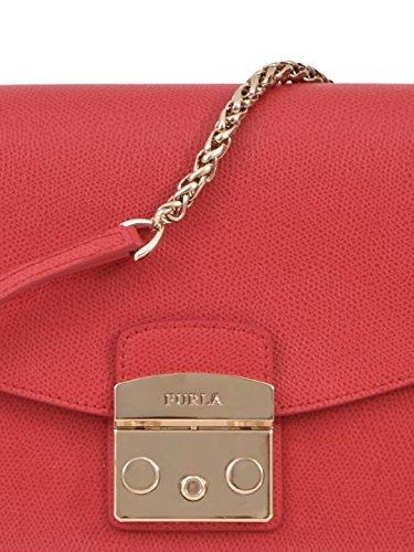 FURLA Borsa A Spalla Donna BNF8ARERUB Pelle Rosso