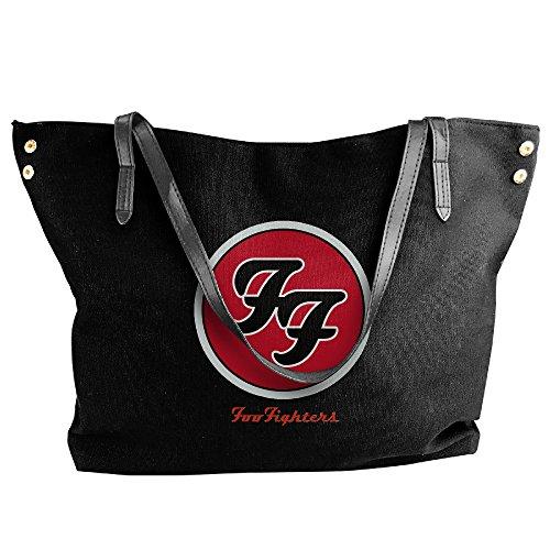 Foo Fighters Costume (Foo Fighters Logo Handbag Shoulder Bag For Women)