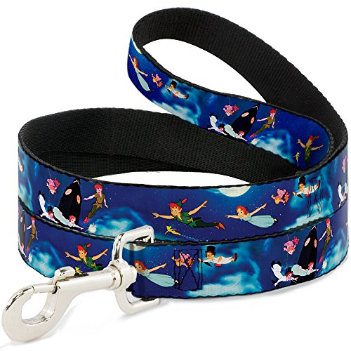 disney-peter-pan-flying-scene-dog-leash-10-wide-4-long-multicolor