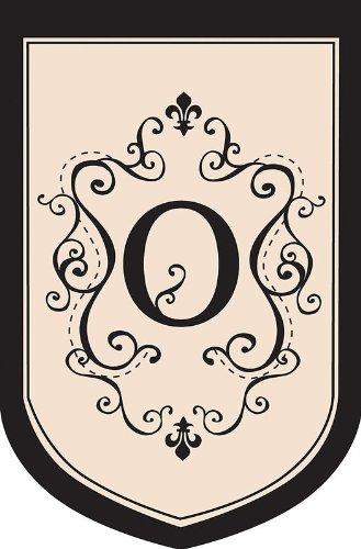 Regal Monogram Estate Flag - O (Regal Monogram)