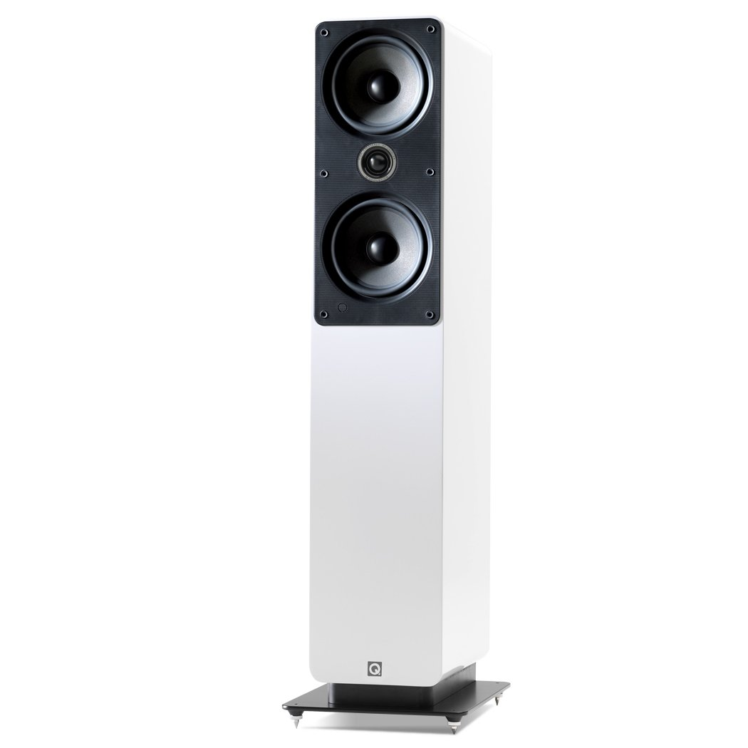 Q Acoustics Q2050i 150W Blanco altavoz - Altavoces (De 2 vías, 2.0 canales, Alámbrico, 150 W, 44-22000 Hz, Blanco)