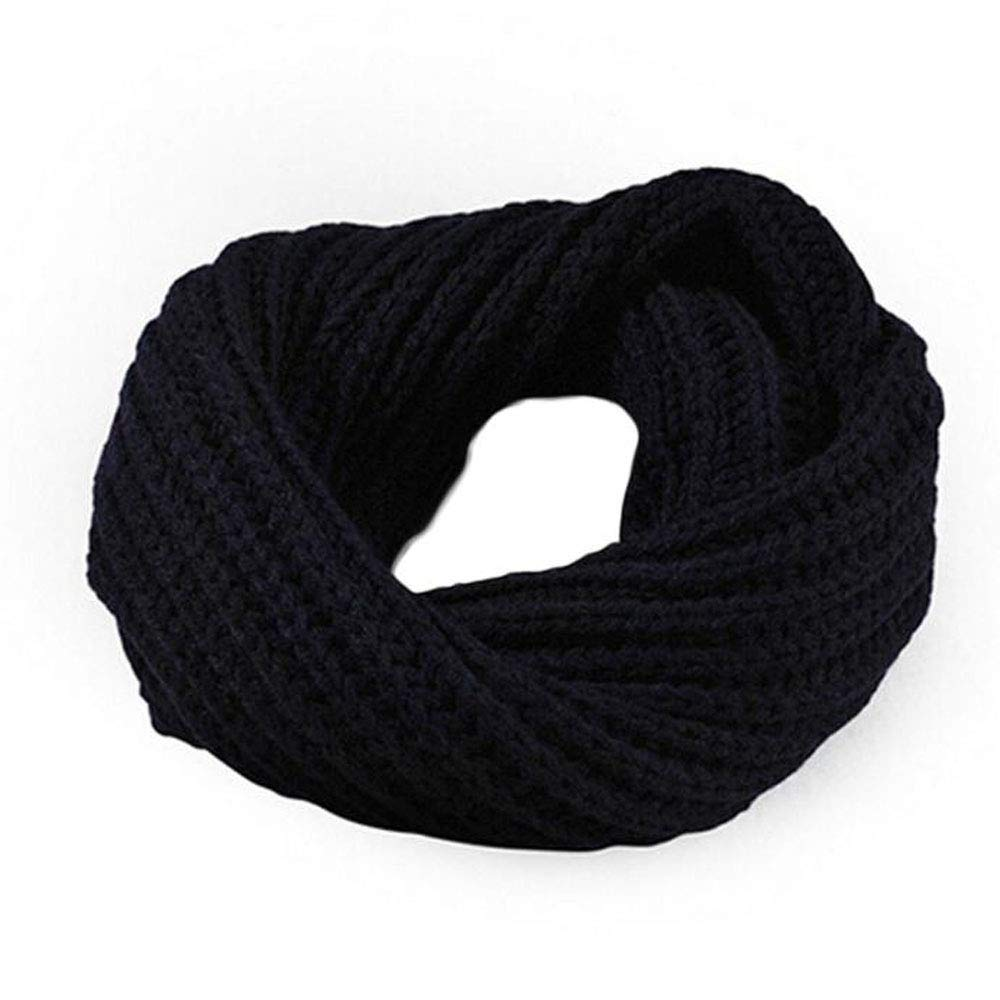 Infinity Scafr, Shybuy Unisex Men & Women' s Soft Winter Knitted Warm Infinity Scarf Lightweight Circle Loop Scarves
