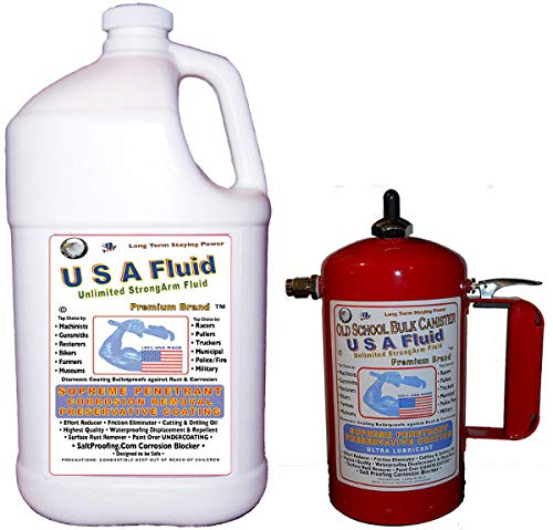 (USA Fluid Gallon & Canister Combo Pack)