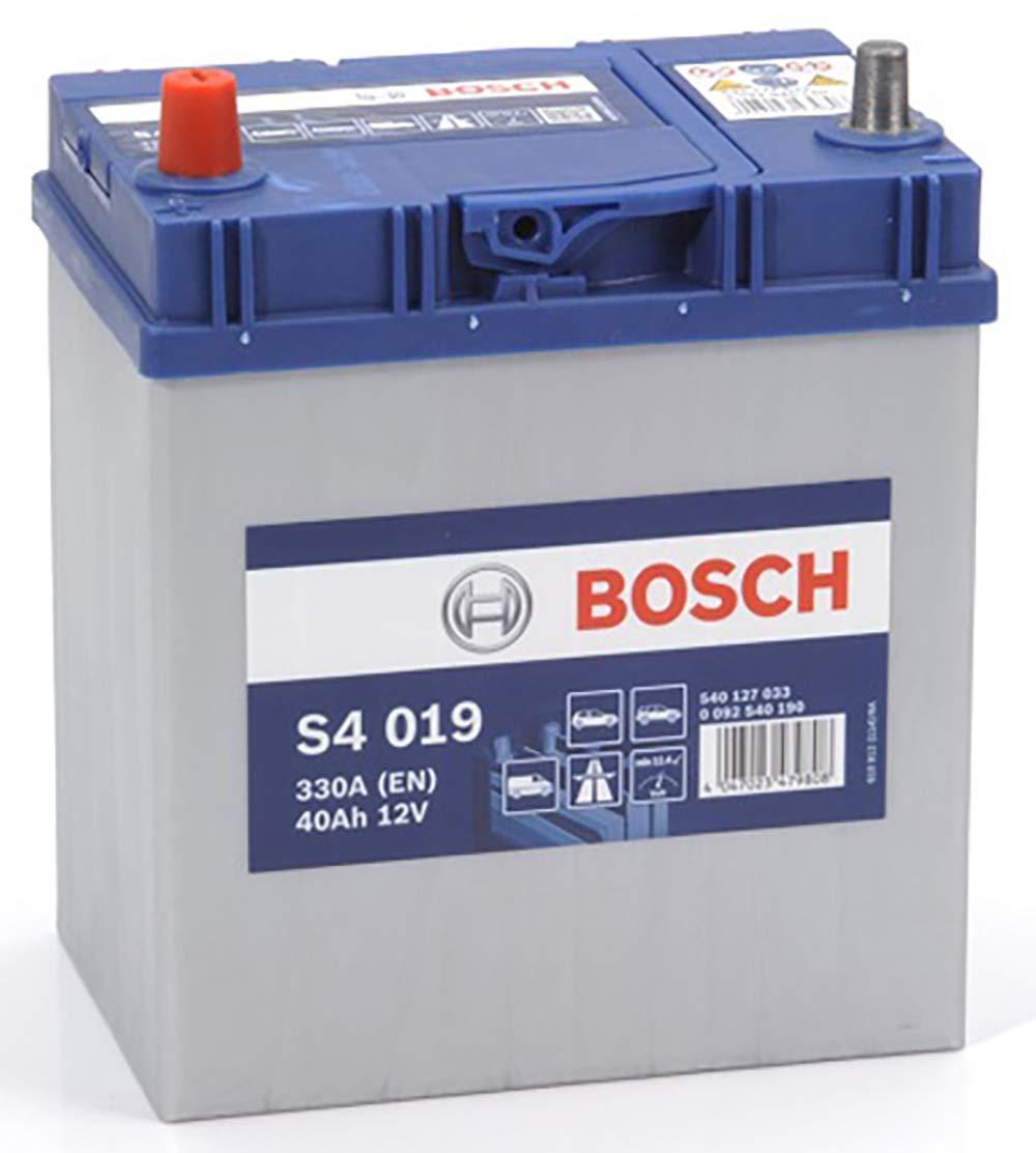 Bosch S4019 Batteria Auto 40A/h-330A BOSCH BATTERIE 0092S40190