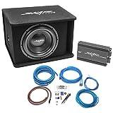 "Skar Audio Single 12"" Complete 1,200 Watt SDR Series Subwoofer Bass Package"