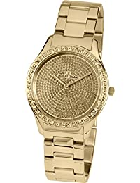 Jacques Lemans ROME 1-1841ZK Wristwatch for women With Swarovski crystals