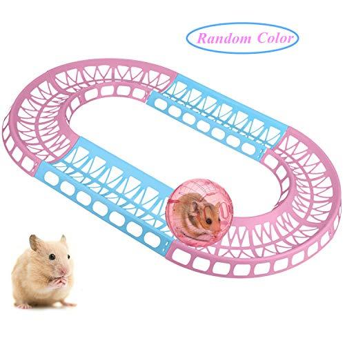 Legendog Hamster Toys Hamster Track Toy,Hamster Exercise Track Hamster Exercise Toy,Small Animal Track for Hamster,Small Animal Supplies for Pets,Pet Supplies Hamster Supplies from Legendog