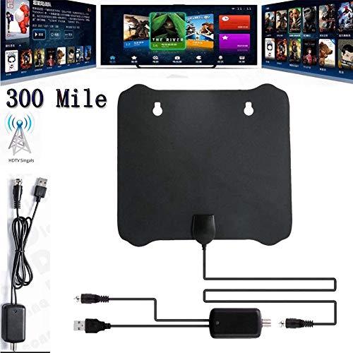 Studyset 300 Mile Range Antenna TV Digital HD Skywire 4K Antena HDTV 1080p with Amplifier