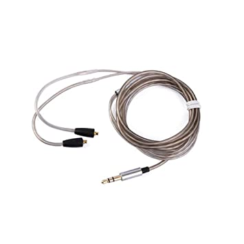 Upgrade Audio Cable Cord with MIC MMCX for Shure SE215 SE315 SE425 SE535 UE900