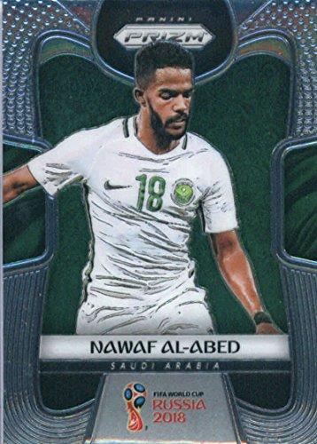 2018 Panini Prizms Silver Refractor Prizm #174 Nawaf Al-Abed Saudi Arabia World Cup Russia Futbol Card