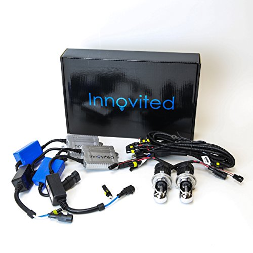 - Innovited Premium AC Canbus HID Kit 100% Error Free No Flicker No Warning - H4-3 9003 - 5000K Bi xenon HI/LO HID