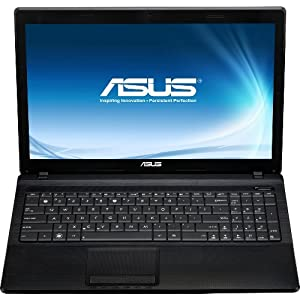 Asus X54C-SO404D 39,6 cm (15,6 Zoll) Notebook (Intel Pentium B960 2,2GHz, 4GB RAM, 320GB HDD, Intel HD, DVD, Linux) schwarz