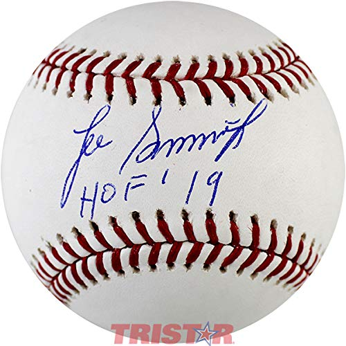 Lee Smith Signed Autographed ML Baseball Inscribed HOF 19 TRISTAR COA