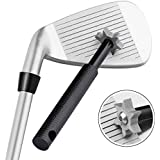 Golf Club Groove Sharpener Tool with 6 Cutters, Vancle® Golf Club Re-Grooving Cleaning Tool 6-Tip, Golf Accessories