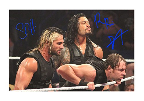 Engravia Digital The Shield WWE Wrestlers (1) Poster Signed Autograph Reproduction Photo A4 Print(Unframed) (Wwe Pictures)