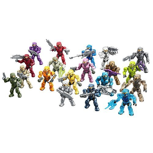 Mega Construx Halo Exclusive Spartan Tribute Set (97520)