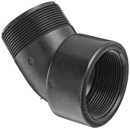 (Banjo SL075-45 Polypropylene Pipe Fitting, 45 Degree Street Elbow, Schedule 80, 3/4