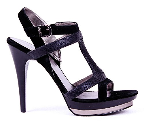 Guess Women's Strappy Pumps High Heels Black eiJnEuB
