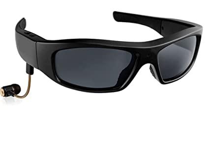 JOYCAM Gafas de sol Bluetooth con Cámara Polarizada UV400 Gafas HD 720P Grabación de Video Gafas