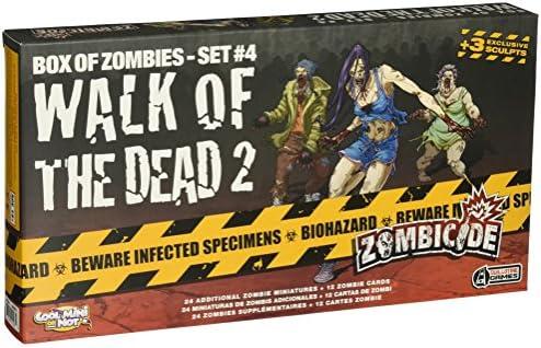 Zombicide Box of Zombies: Walk of The Dead 2 Set #4 - Juego de Mesa, para 6 Jugadores (CoolMiniOrNotInc. GUG0018) (versión en inglés): Amazon.es: Juguetes y juegos