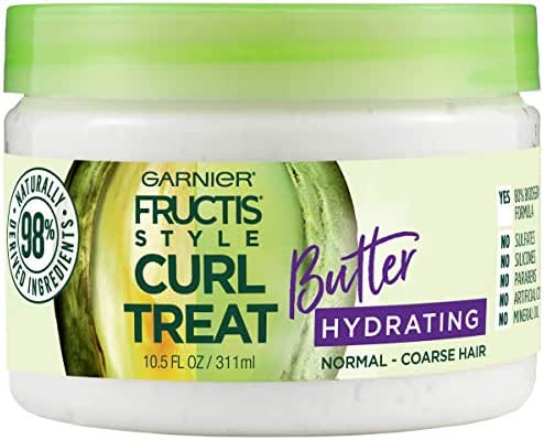 Hair Styling: Garnier Fructis Style Curl Treat Butter Hydrating