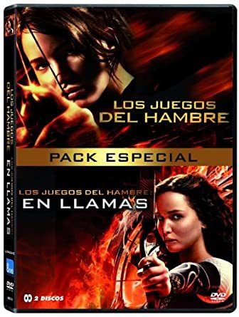 Pack Los Juegos Del Hambre 1 2 Dvd Amazon Es Jennifer Lawrence