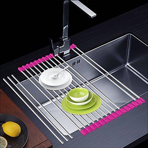 Sink Rack, Dish Drying Rack Over Sink Dish Drainer Rack, Sta
