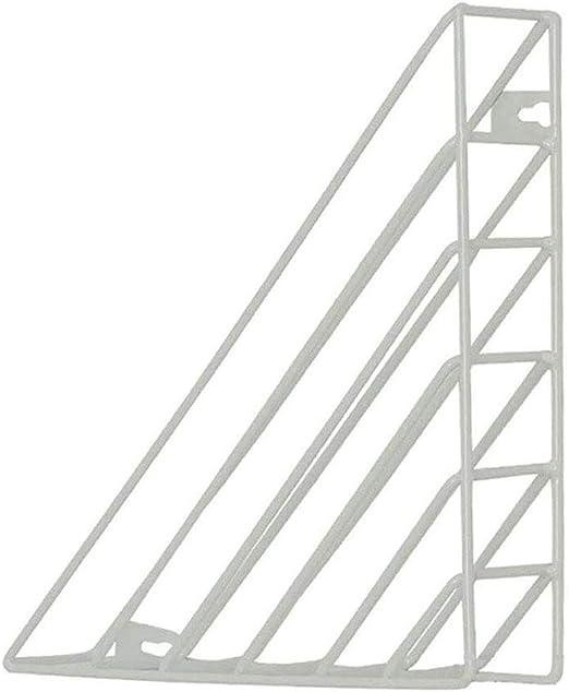 Jszzz Montado en la Pared Estantería nórdica Estilo del triángulo Colgando estantes flotantes de Almacenamiento del Soporte del sostenedor Biblioteca Organizador: Amazon.es: Hogar