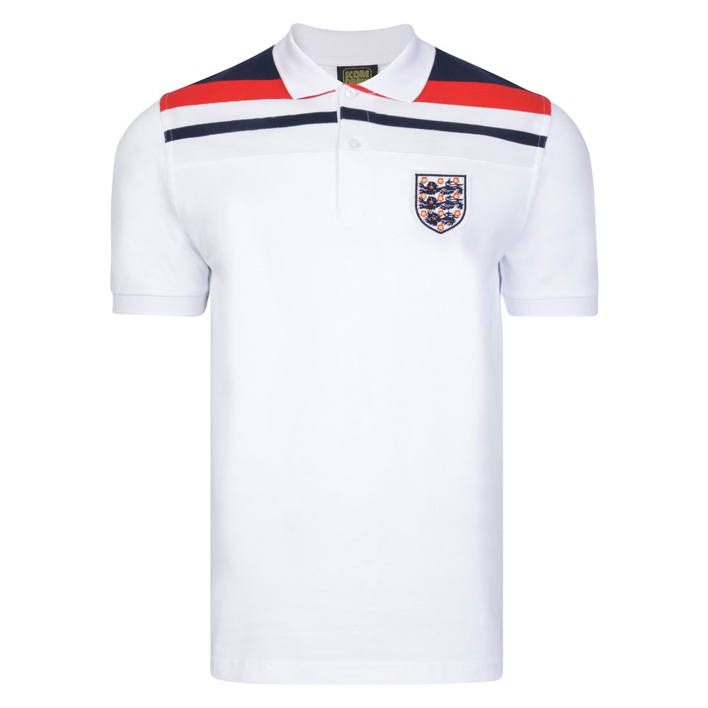 f41f24e42 Official Retro England 1982 Empire White Polo shirt  Amazon.co.uk  Sports    Outdoors