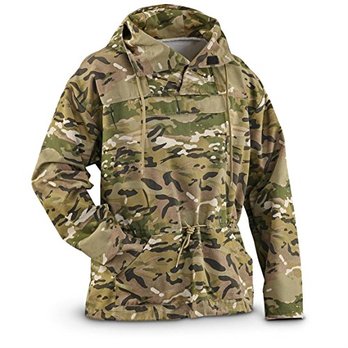 Military Style MultiCam Anorak Jacket (X-LARGE)