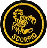 Klicnow Scorpio Zodiac Horoscope Embroidered