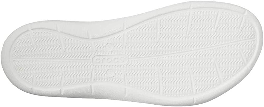 Crocs Sandale Marine//Blanc Femmes