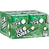 ICE BREAKERS Ice Cubes Sugar Free Xylitol Gum, Spearmint, 40 Piece (Pack of 4)