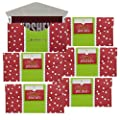 Set of 6 Giant Candy Bar Gift Box Holders Gift Card Envelope Sleeve Holiday Present