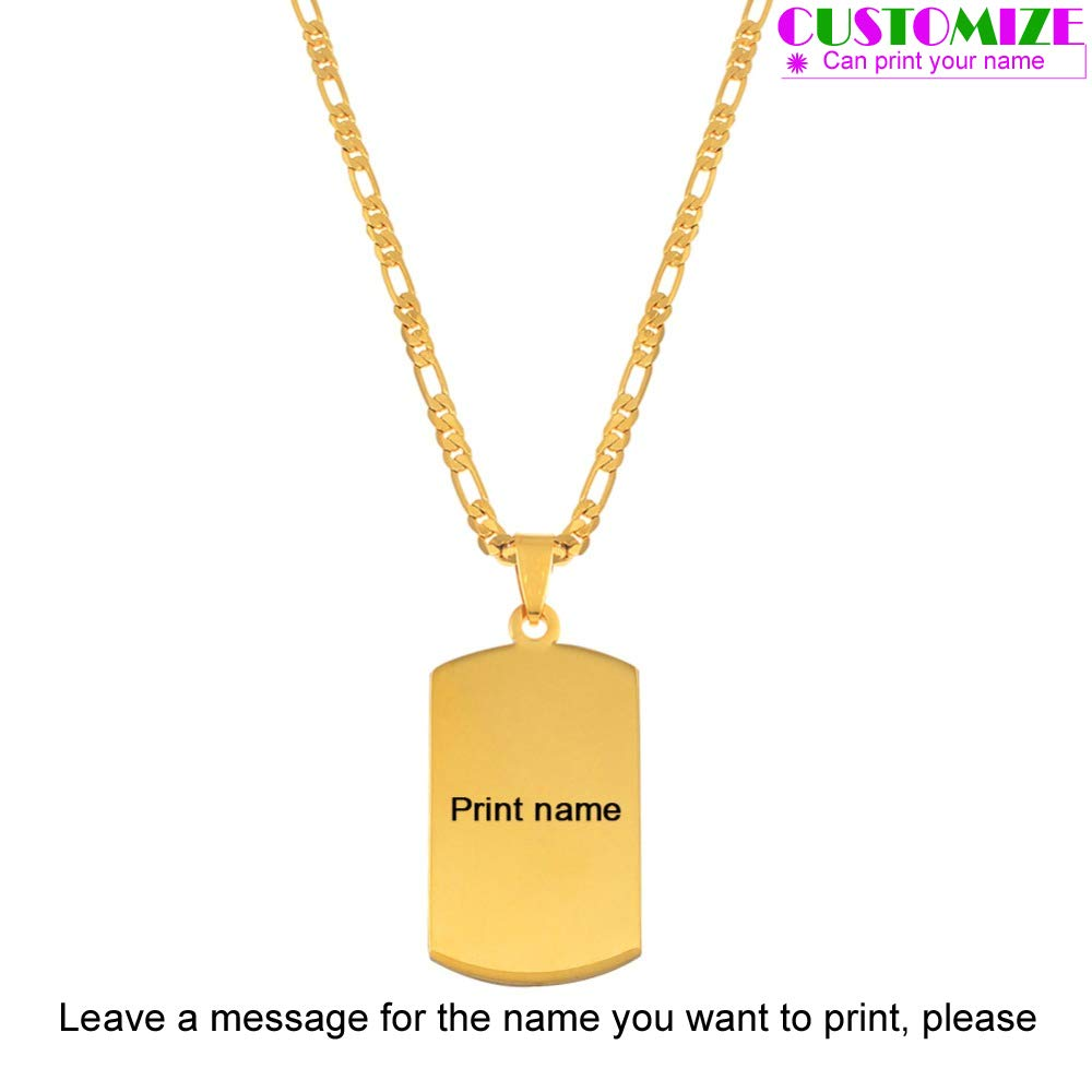Personalized Name Pendant Necklaces for Men Women Marshall Islands Jewelry Micronesia Customize Print Letters #053621p Black Print Letter 60cm by 3mm Chain Pendant Necklace